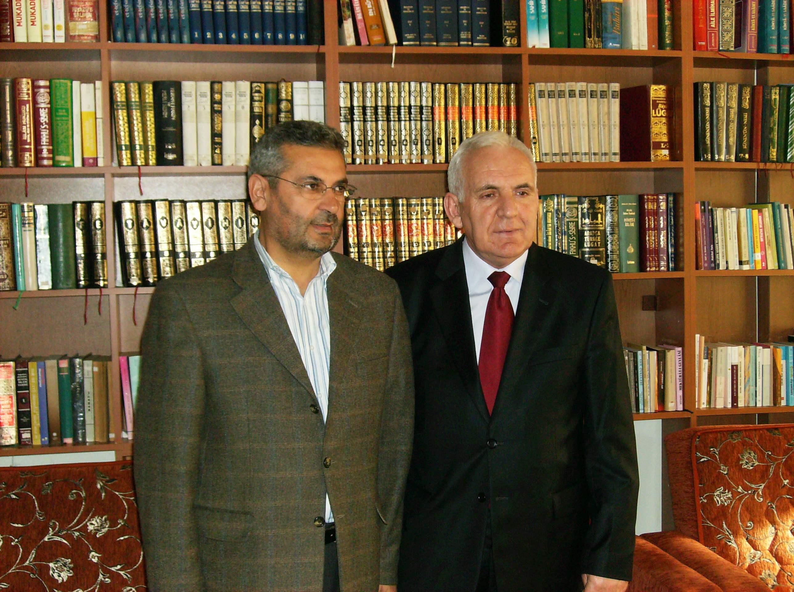 Makedonya Devlet Bakanı Hadi Nezir'in Ziyareti